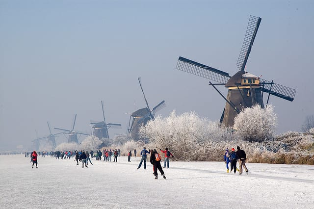 13 Of The World's Best Ice Rinks You Won't Want To Miss The Flash Pack Kinderdijk - Rotterdam