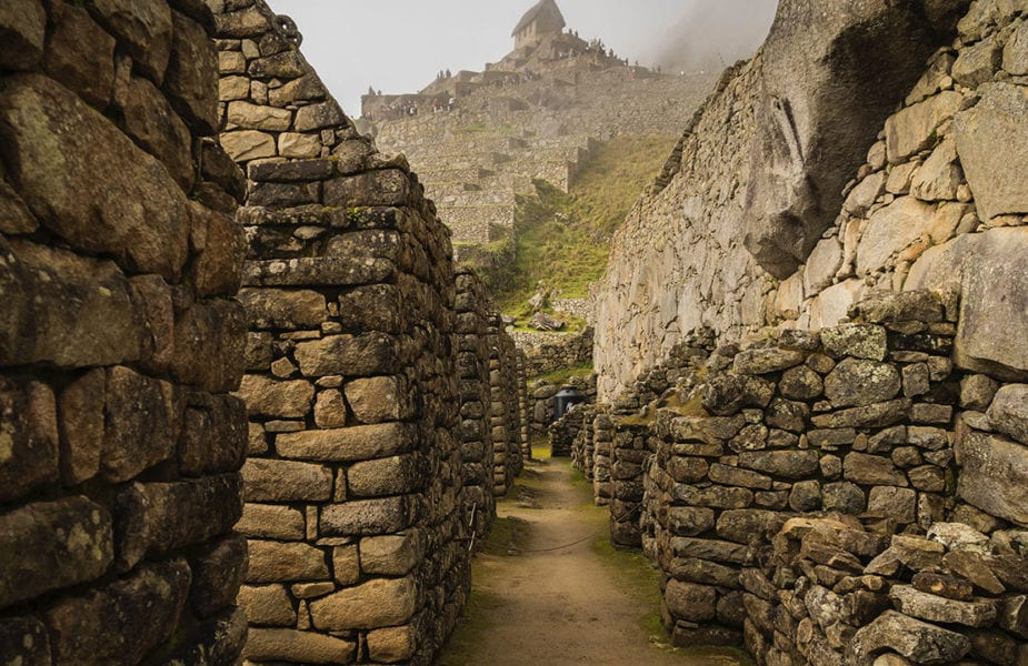 Inca pathways