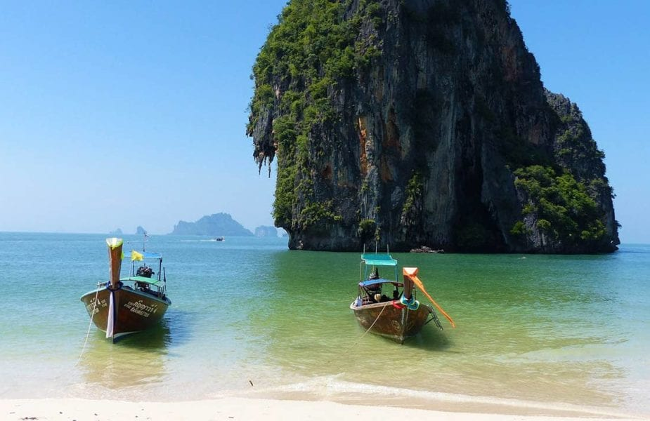 White sand beaches, Krabi