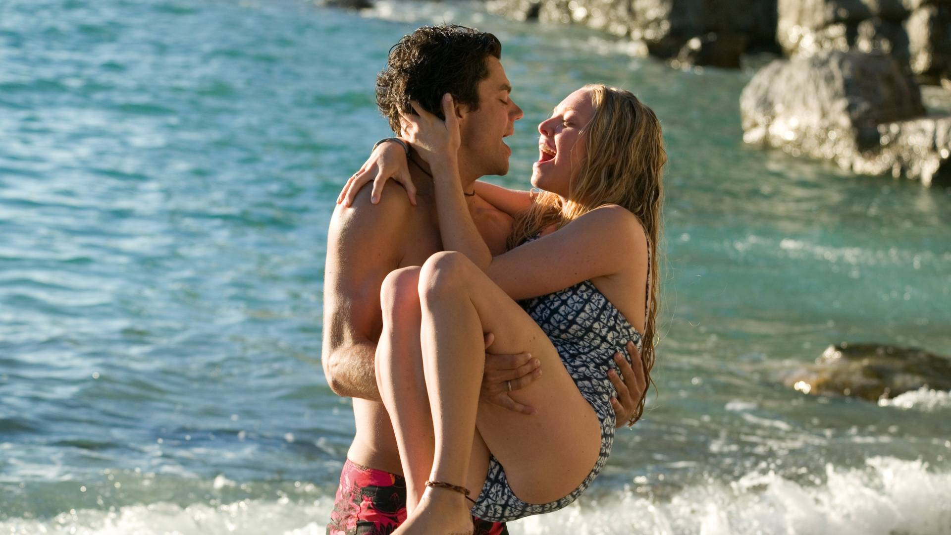beach scene from mamma mia