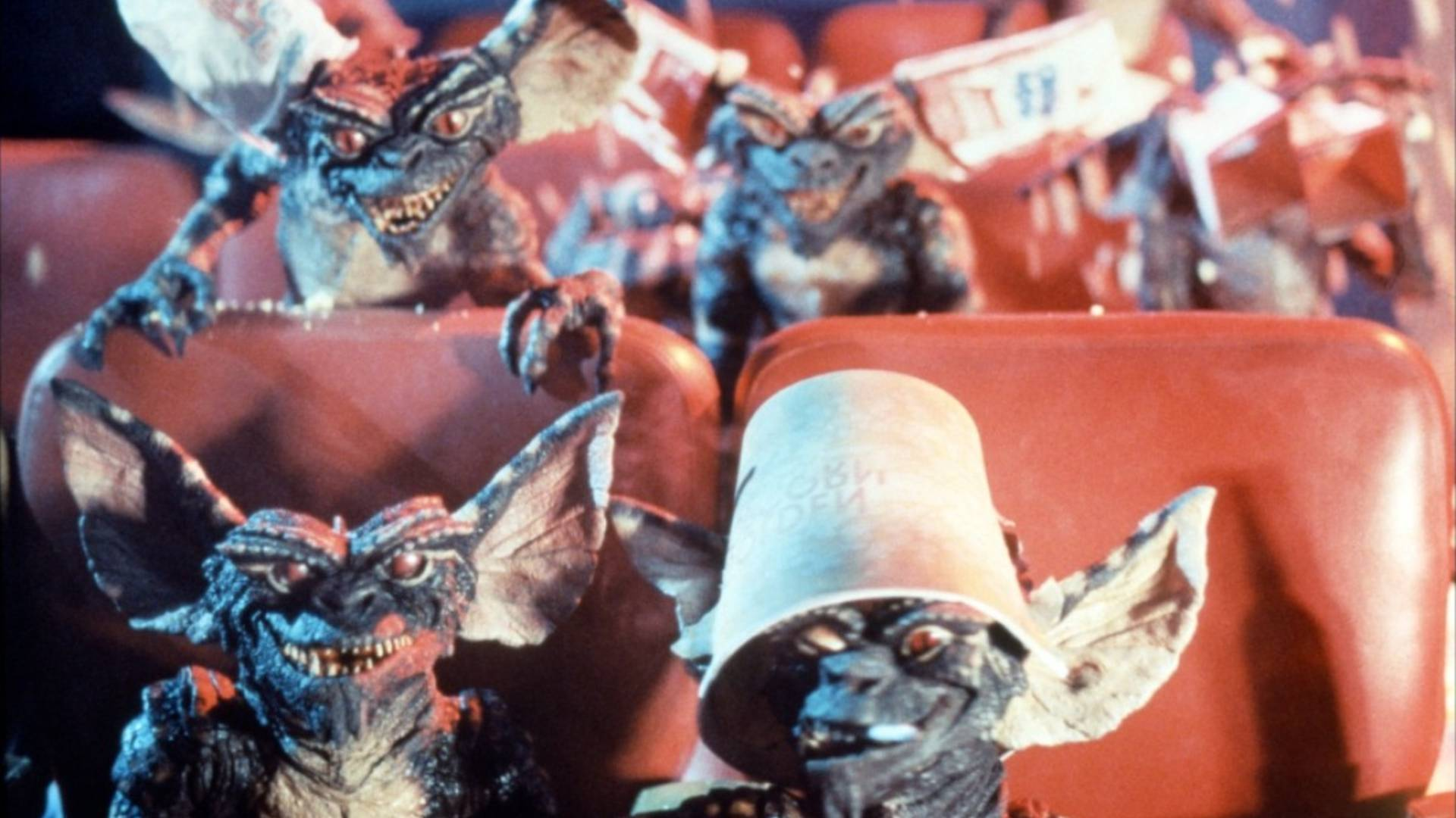 going to the cinema alone - gremlins